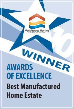 Best Manufactured Home Estate Award 2010 - Yarrawonga Manufactured Housing